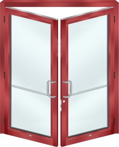 NS281 Impact Entrance Doors