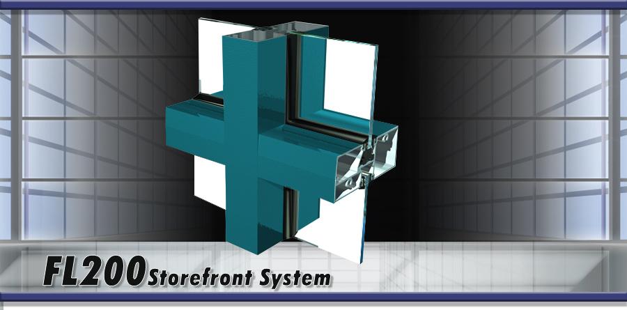 FL200 Storefront System