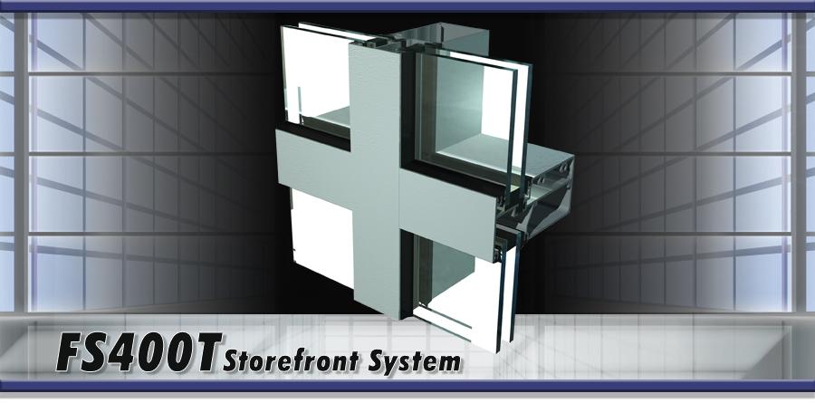 FS400T Storefront System