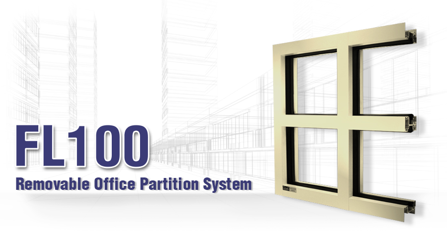 FL100 Removable Office Partition System