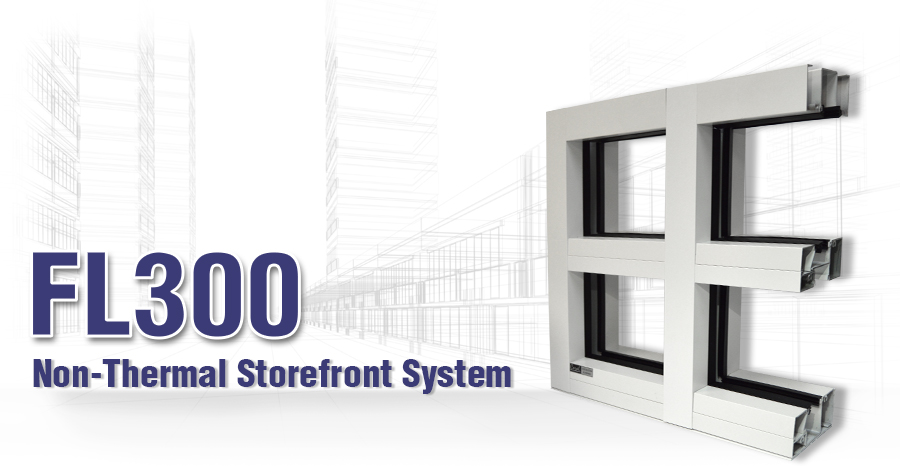 """Aluminum Storefront Systems   1"""" Storefront Systems   Coral"""
